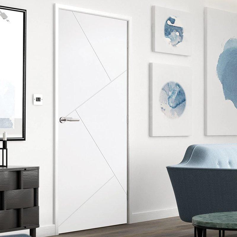 cửa phòng ngủ gỗ nhựa