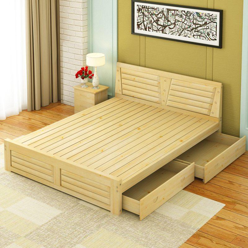 Giường gỗ sồi đẹp
