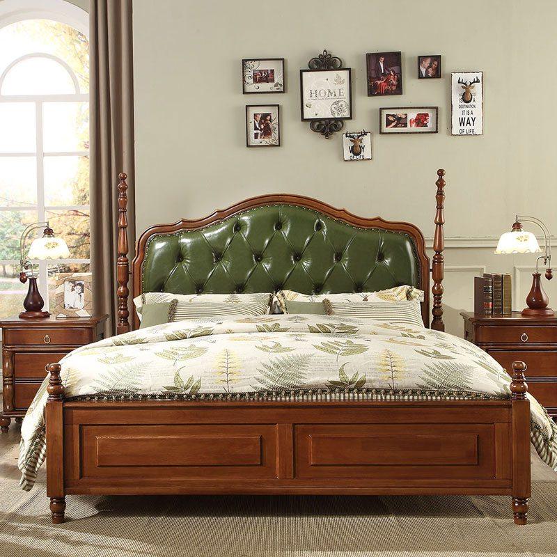 Mẫu giường gỗ đẹp sang trọng