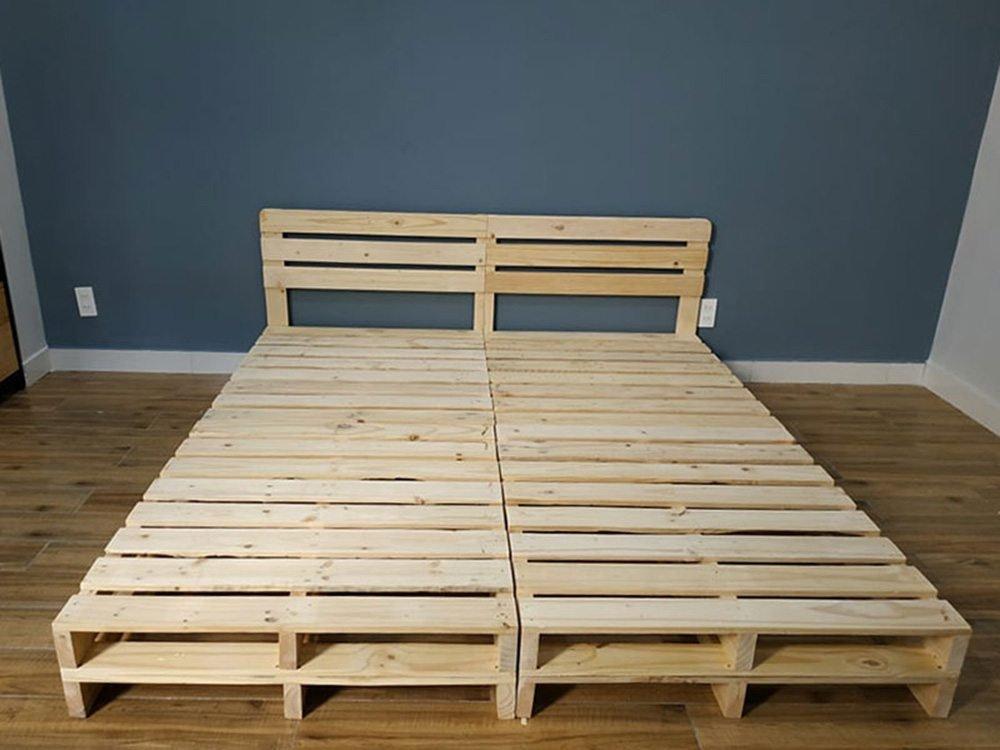 Giường đôi giá rẻ