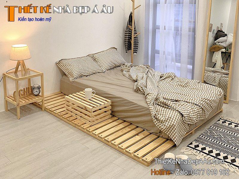 giường dùng trong các resort