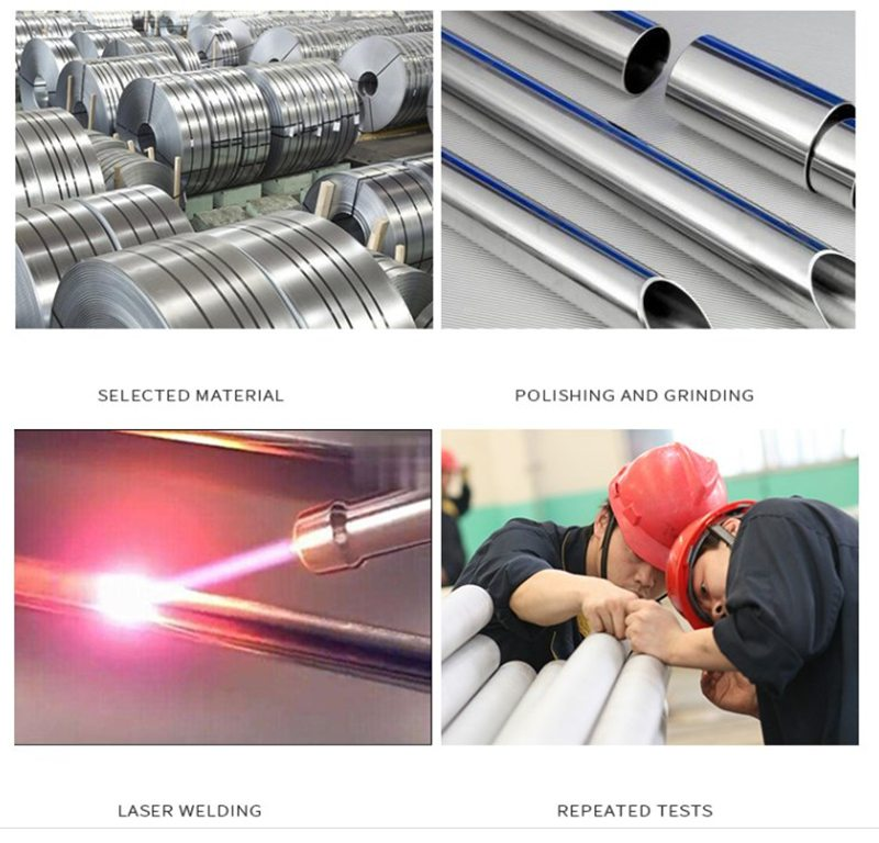quy trình sản xuất giường sắt