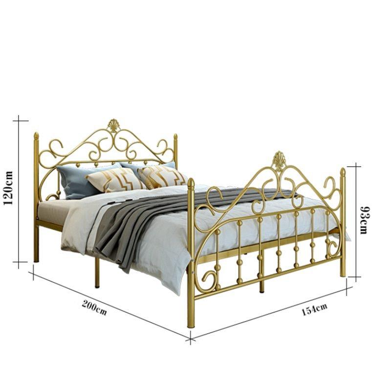Giường sắt mạ đồng