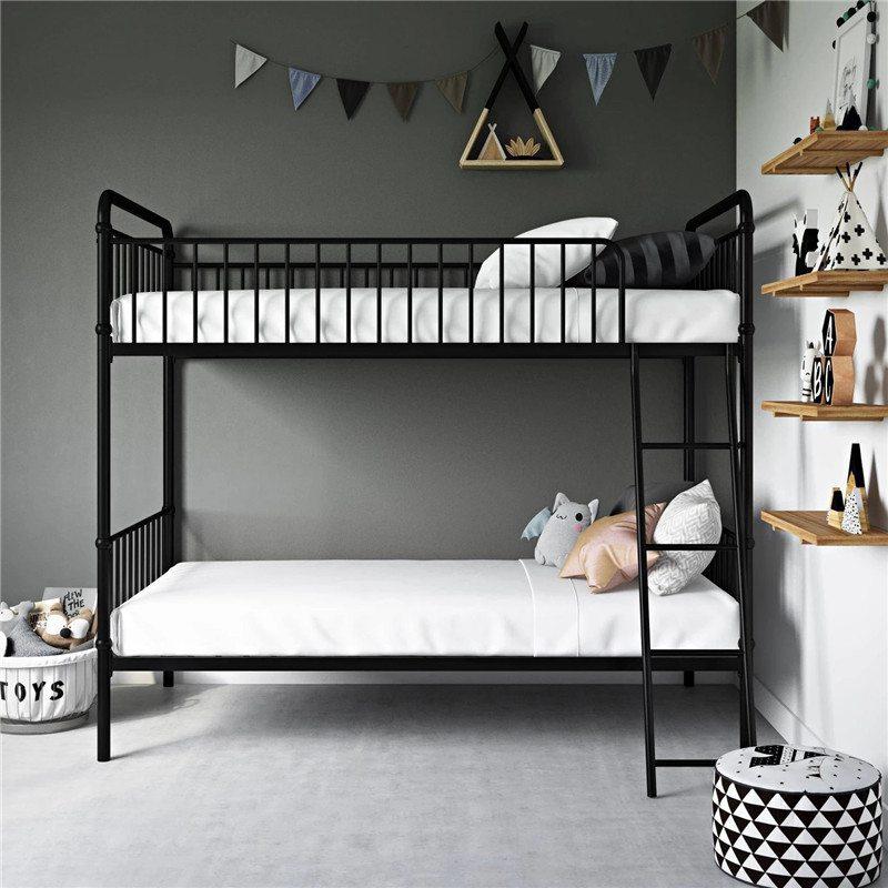 giường tầng chất liệu sắt