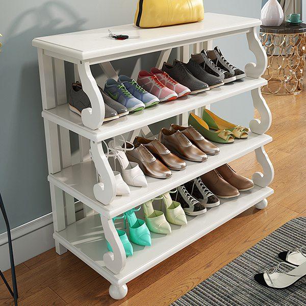 Kệ gỗ đựng giày