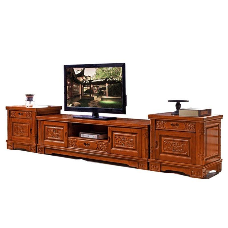 tủ gỗ đặt tivi ở phòng khách