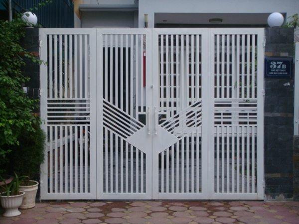 Mẫu cổng 4 cánh