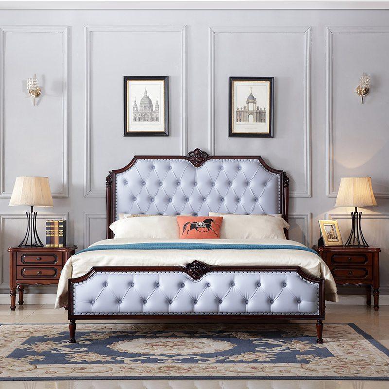 mẫu giường ngủ tân cổ