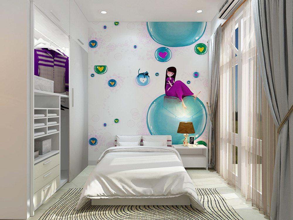 phòng ngủ trẻ nhỏ