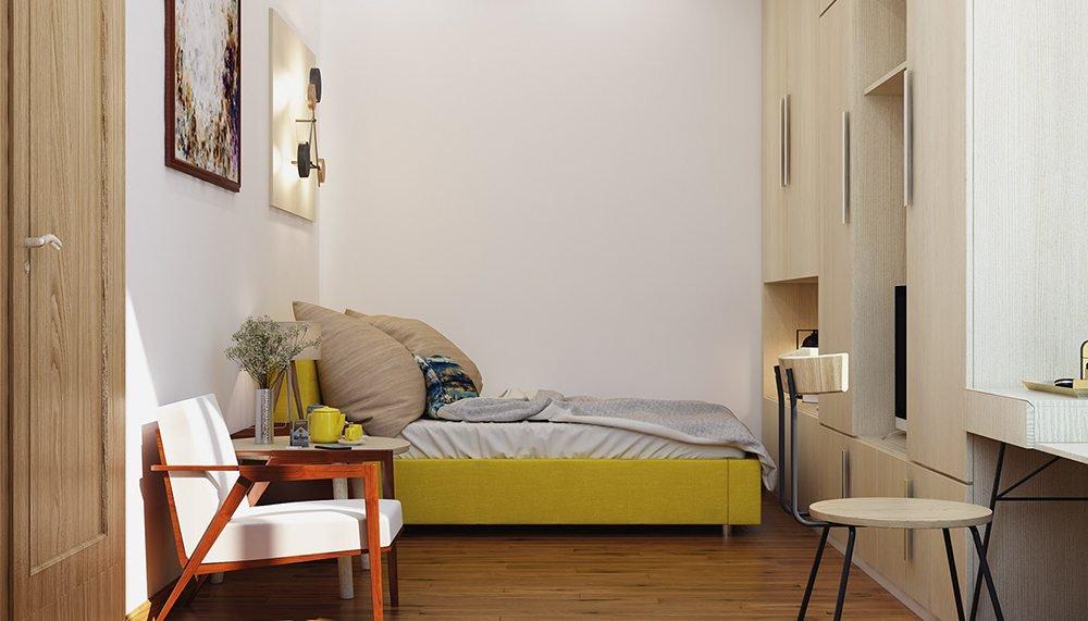 thiết kế nội thất phòng ngủ bé trai 10 tuổi