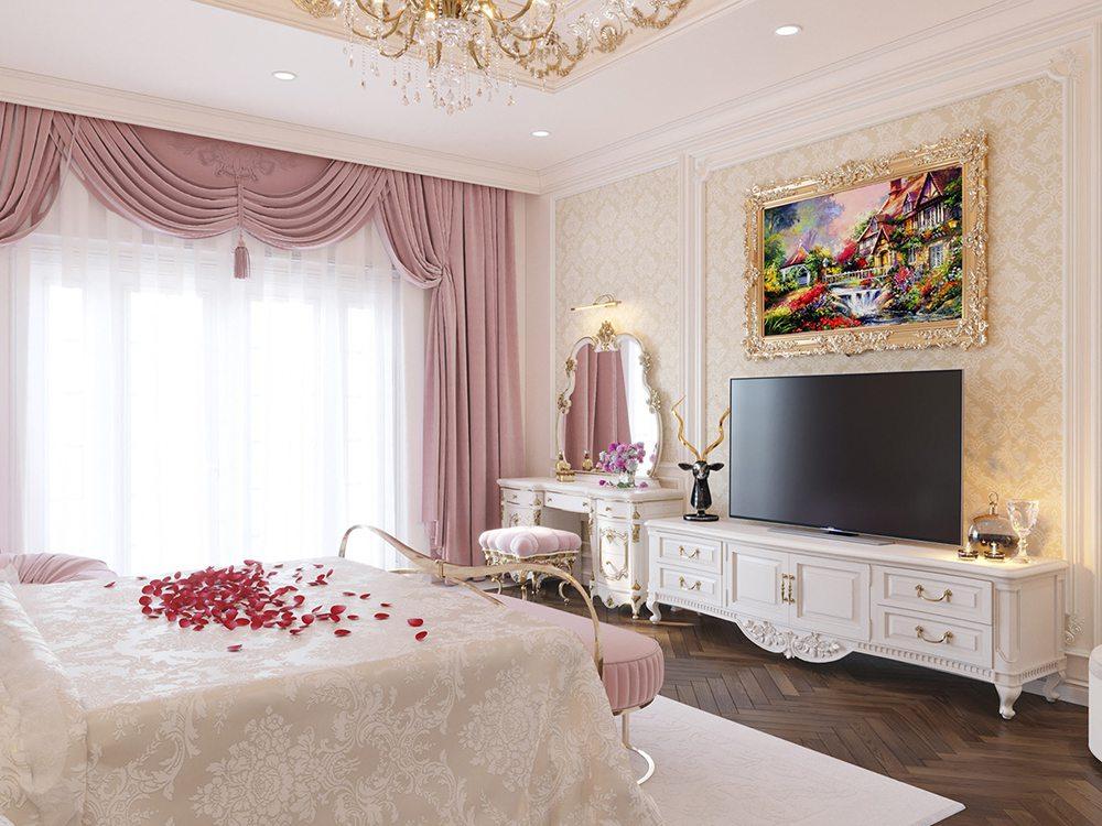 màu sắc phòng ngủ đẹp