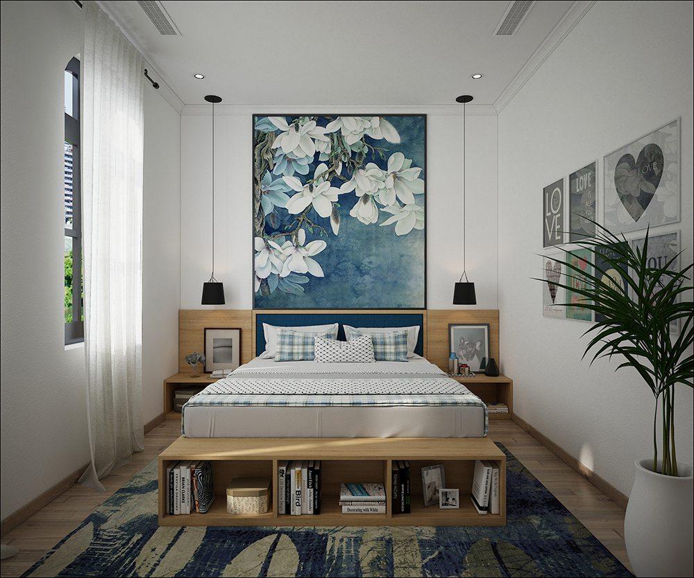 Trang trí nội thất phòng ngủ 15m2