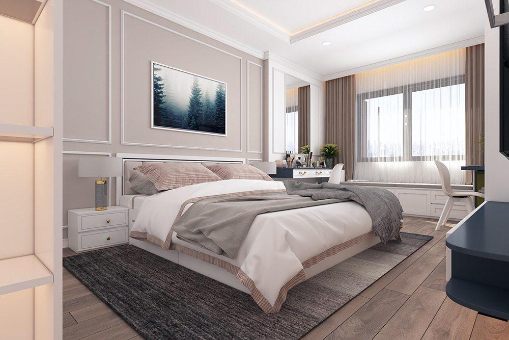 phòng ngủ 25m2