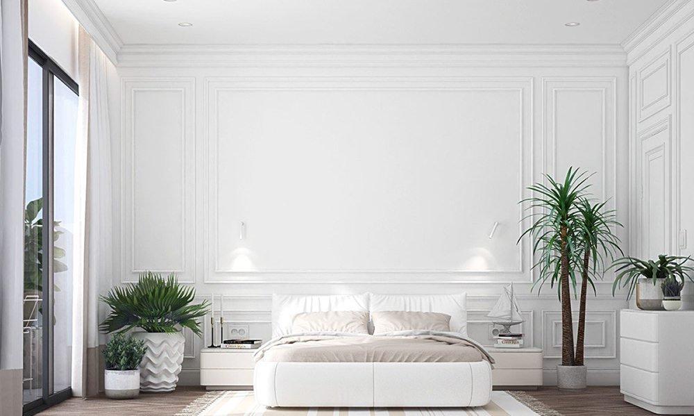 màu sơn phòng ngủ hợp mệnh kim