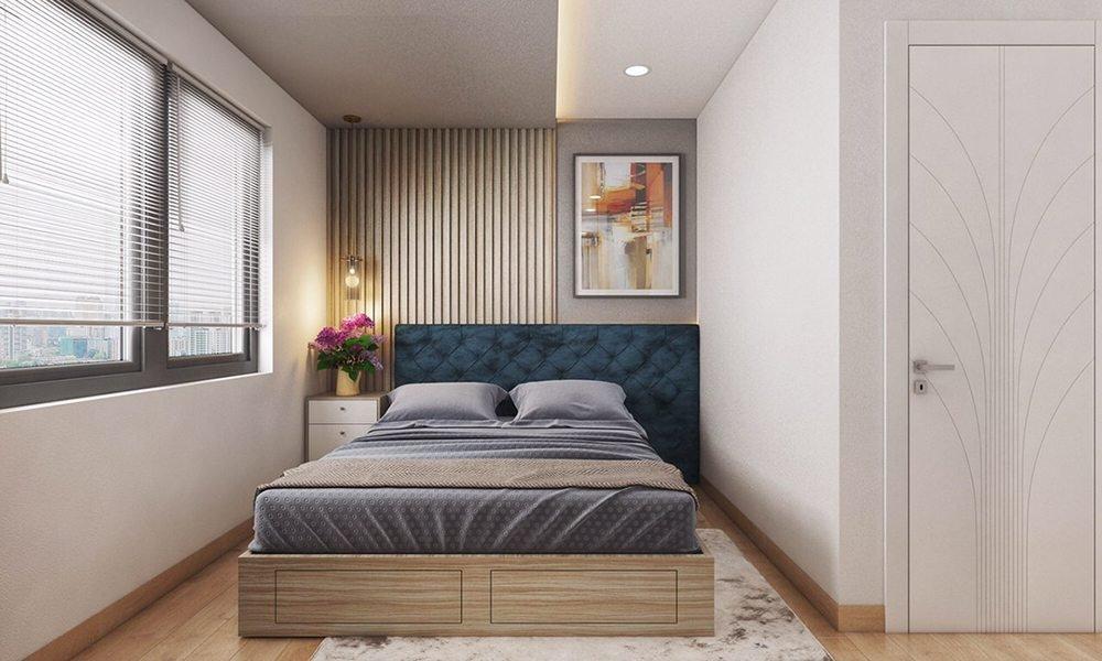 thiết kế phòng ngủ tối ưu