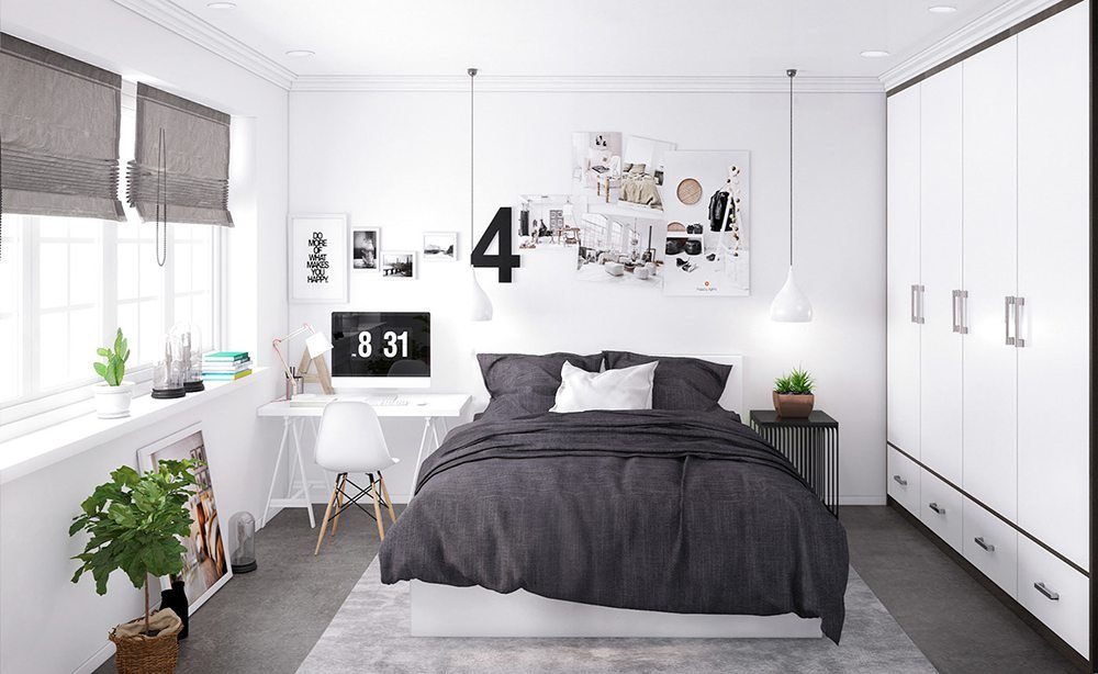 trang trí phòng ngủ nhỏ đẹp 10m2