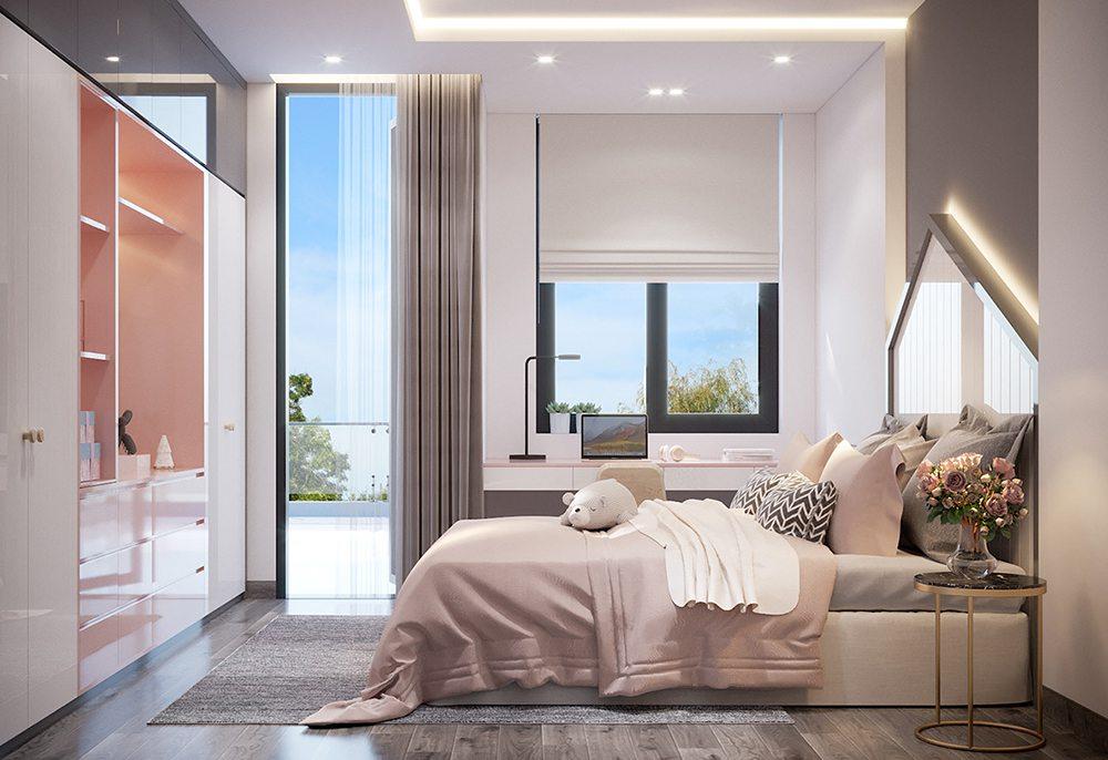 phòng ngủ nhỏ đơn giản hiện đại