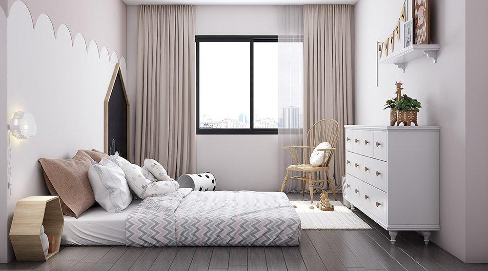 phòng ngủ bé trai nhỏ xinh