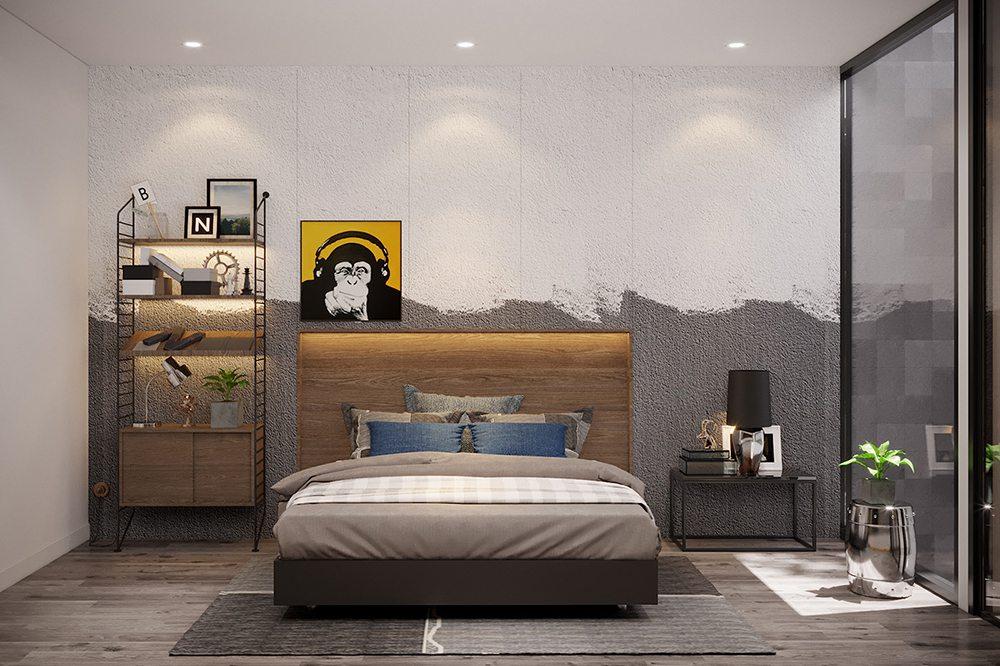 mẫu phòng ngủ nhỏ xinh