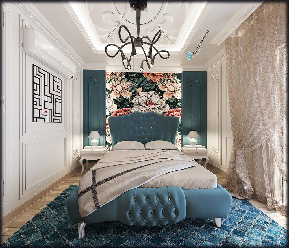 phòng ngủ tân cổ