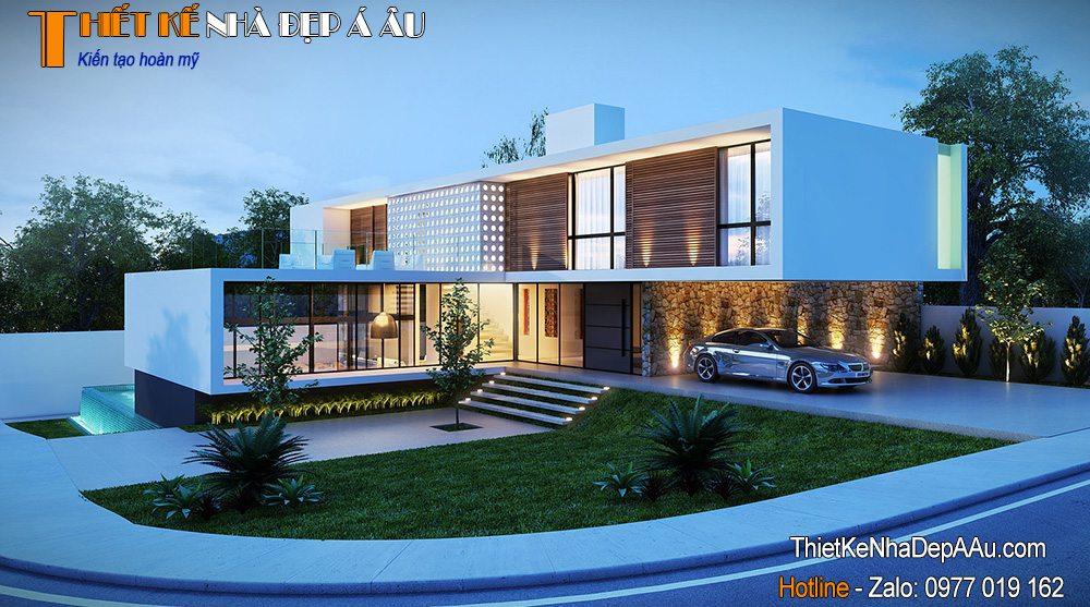 Thiết kế biệt thự hiện đại tại Vũng Tàu