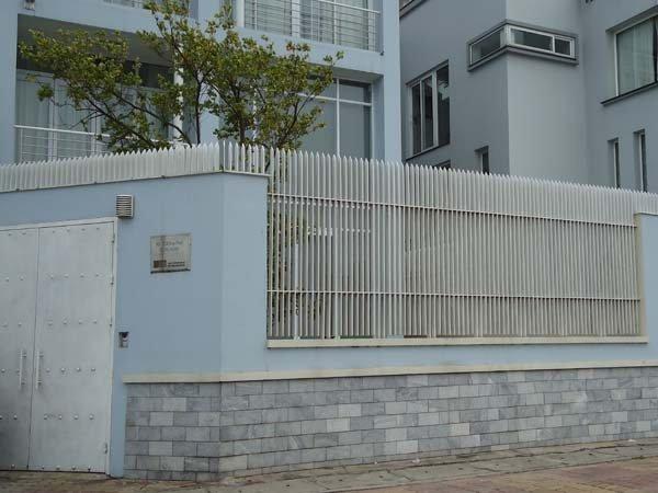 Mẫu hàng rào sắt