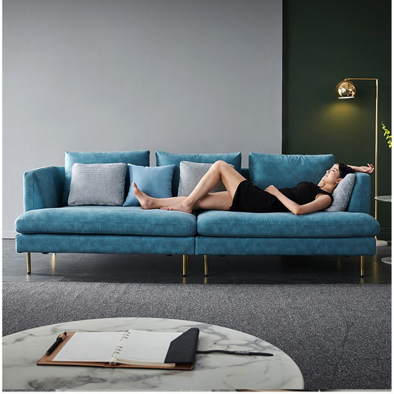 sofa da đi văng
