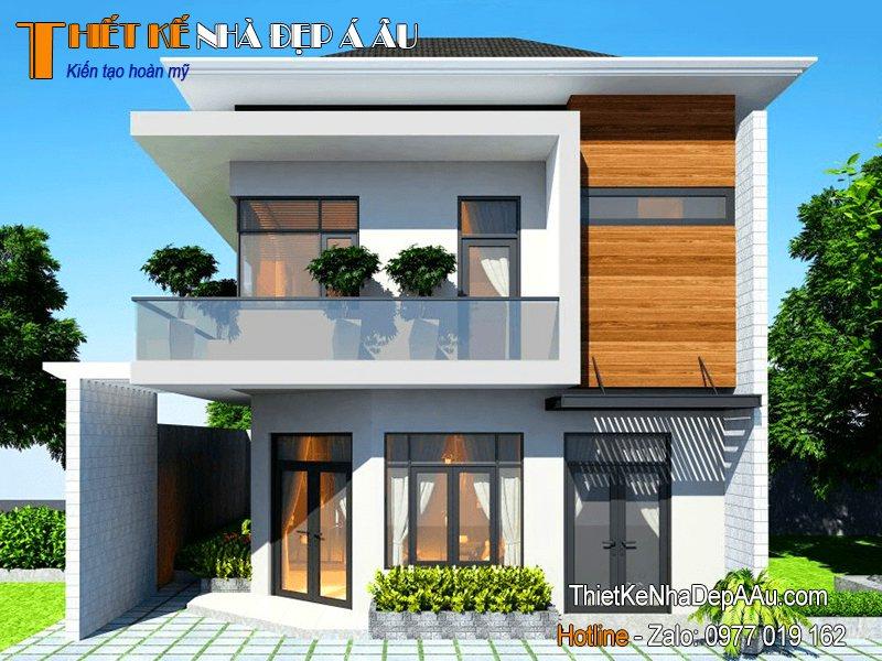Nhà 2 tầng kiến trúc hiện đại