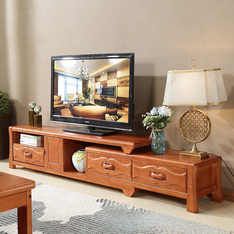 Bộ kệ tivi phòng khách chung cư