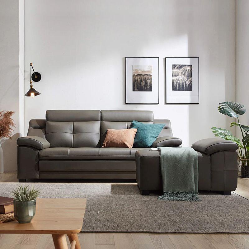 bộ sofa màu xám