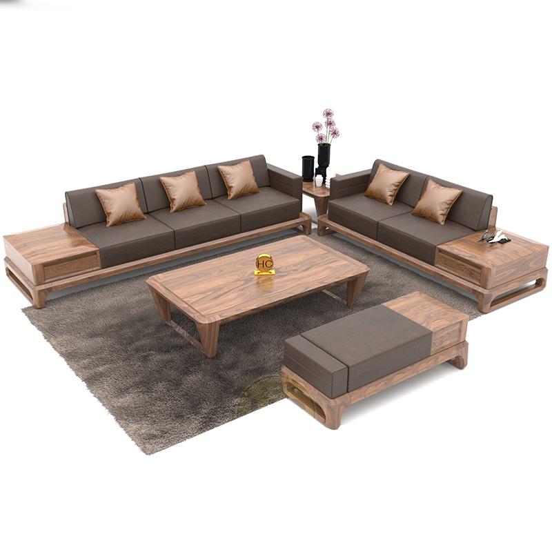 xu hướng sử dụng sofa gỗ