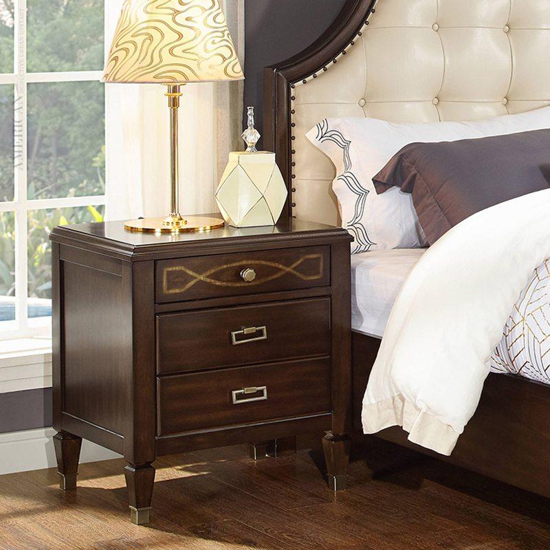 tab gỗ đặt đầu giường nhỏ xinh