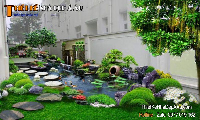 nhà vườn vinhome