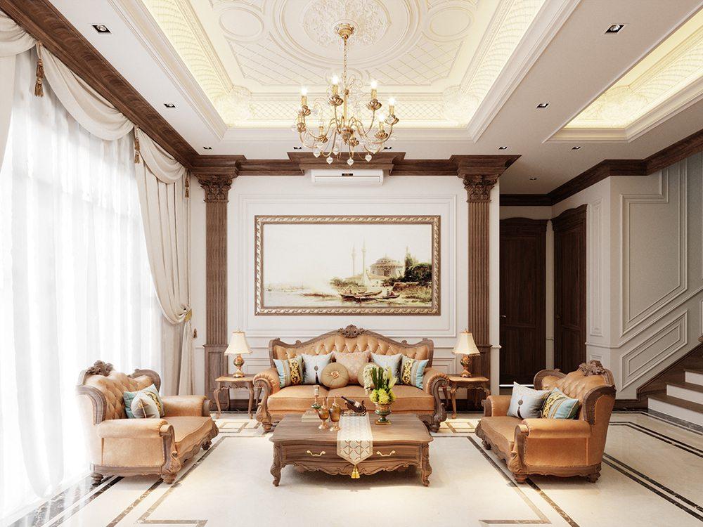 trần phòng khách