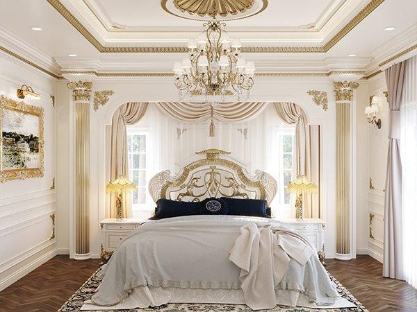 Trang trí trần thạch cao phòng ngủ