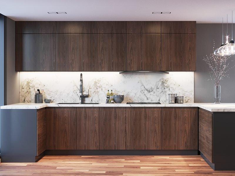 trang trí nội thất bếp hiện đại