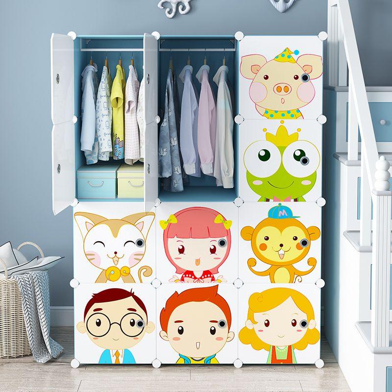 tủ nhựa trang trí phòng trẻ em