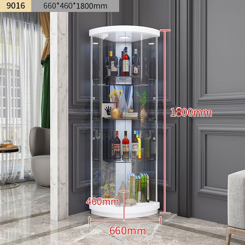 Tủ kính trưng bày rượu