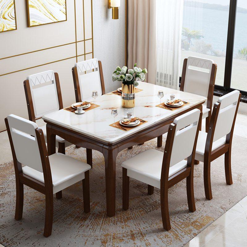 mẫu bàn ăn 6 ghế