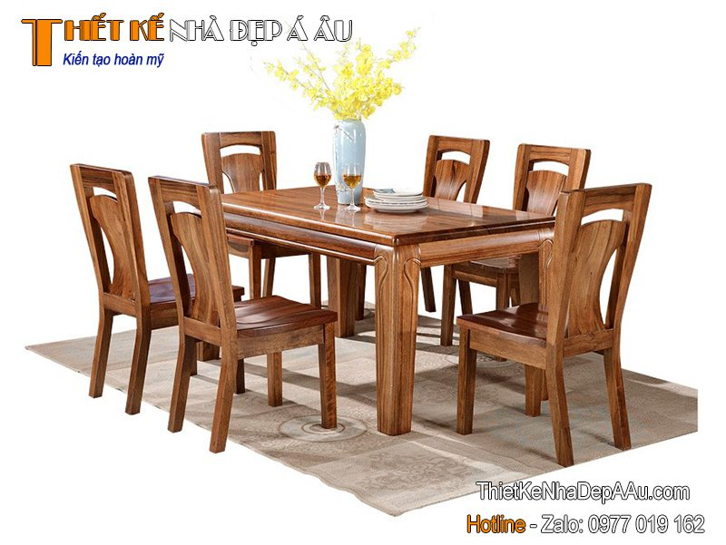bàn ghế phòng ăn đẹp