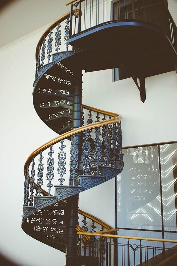 Cầu thang xoắn đẹp