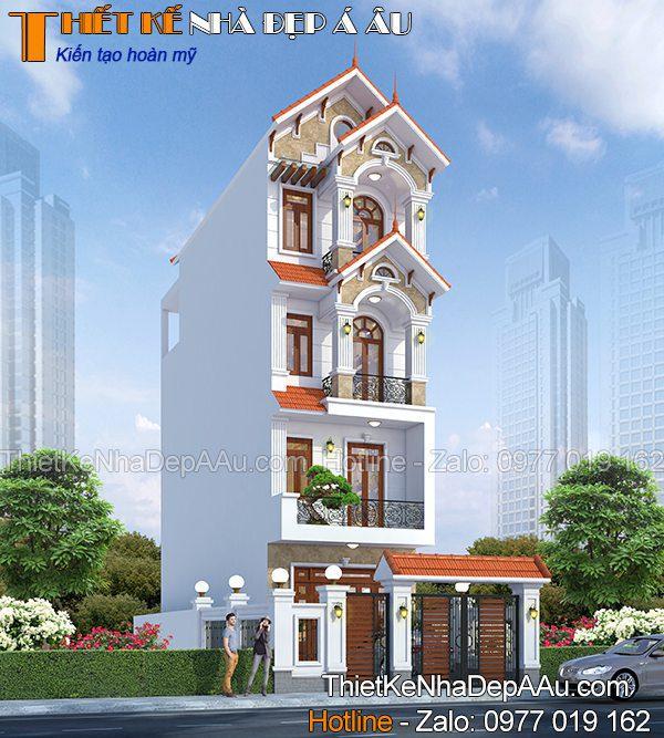 Nhà phố 5x13m