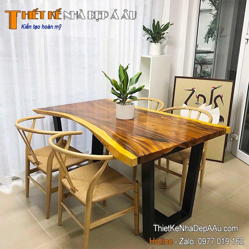 bộ bàn ghế phòng ăn dẹp