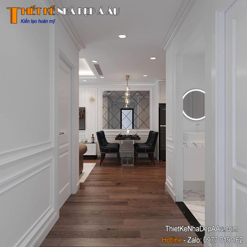 Trang trí nội thất căn hộ đẹp