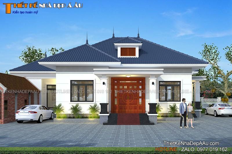 Bản vẽ thiết kế nhà đẹp ở Nho Quan