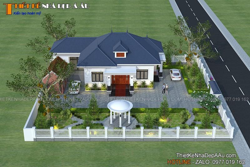 thiết kế nhà đẹp ở Nho Quan Ninh Bình