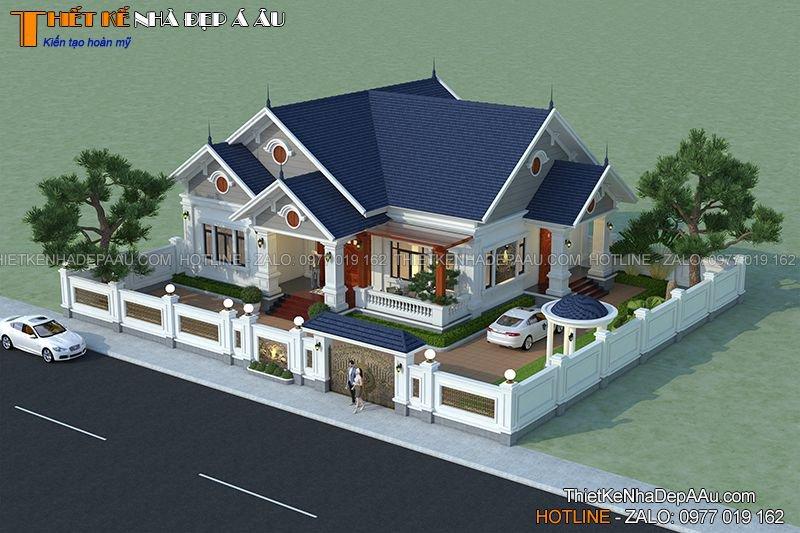 thiết kế biệt thự nhà vườn cấp 4