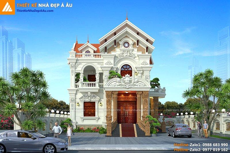 Bản vẽ kiến trúc biệt thự đẹp