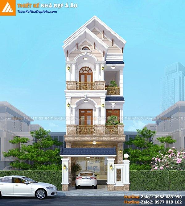 Thiết kế nhà đẹp ở Cẩm Phả