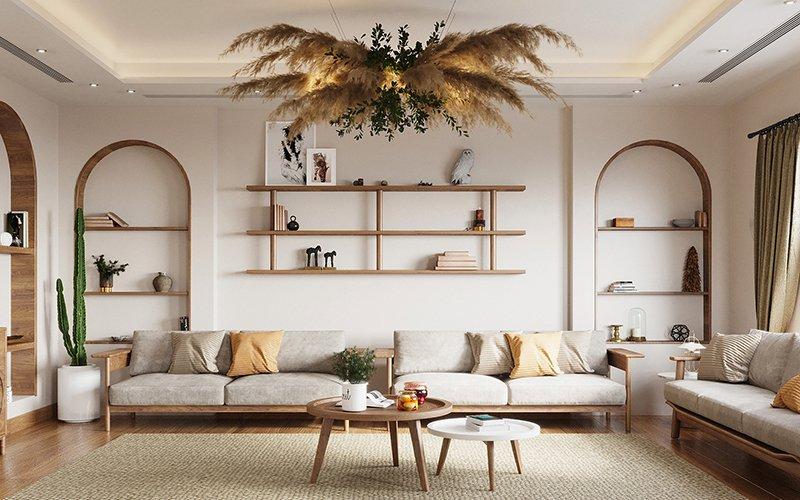 không gian nội thất nhà đẹp